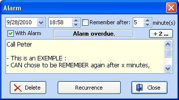Alarm Warning