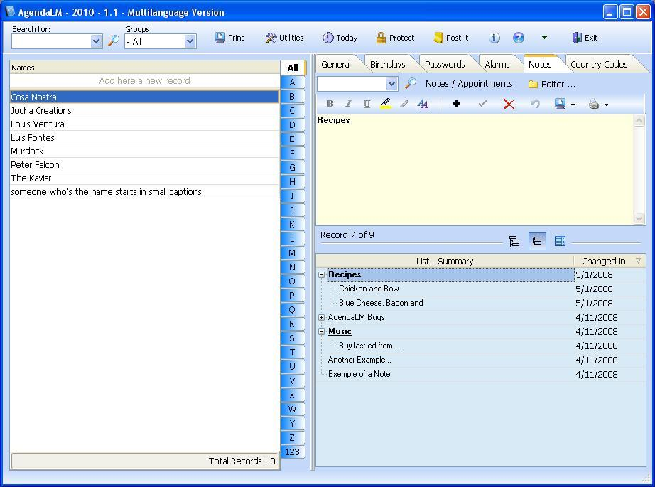 Notes Manager