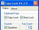 Caps Lock On