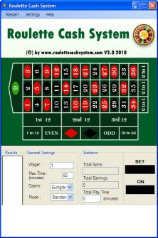 roulette online system tool