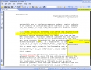 The highlight, annotations, and underline tools in action.