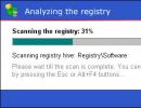 Registry analysis