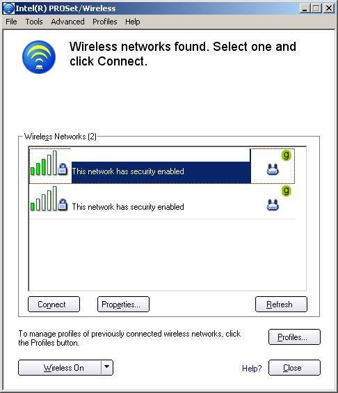Wireless Network Search