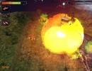 An explosion.