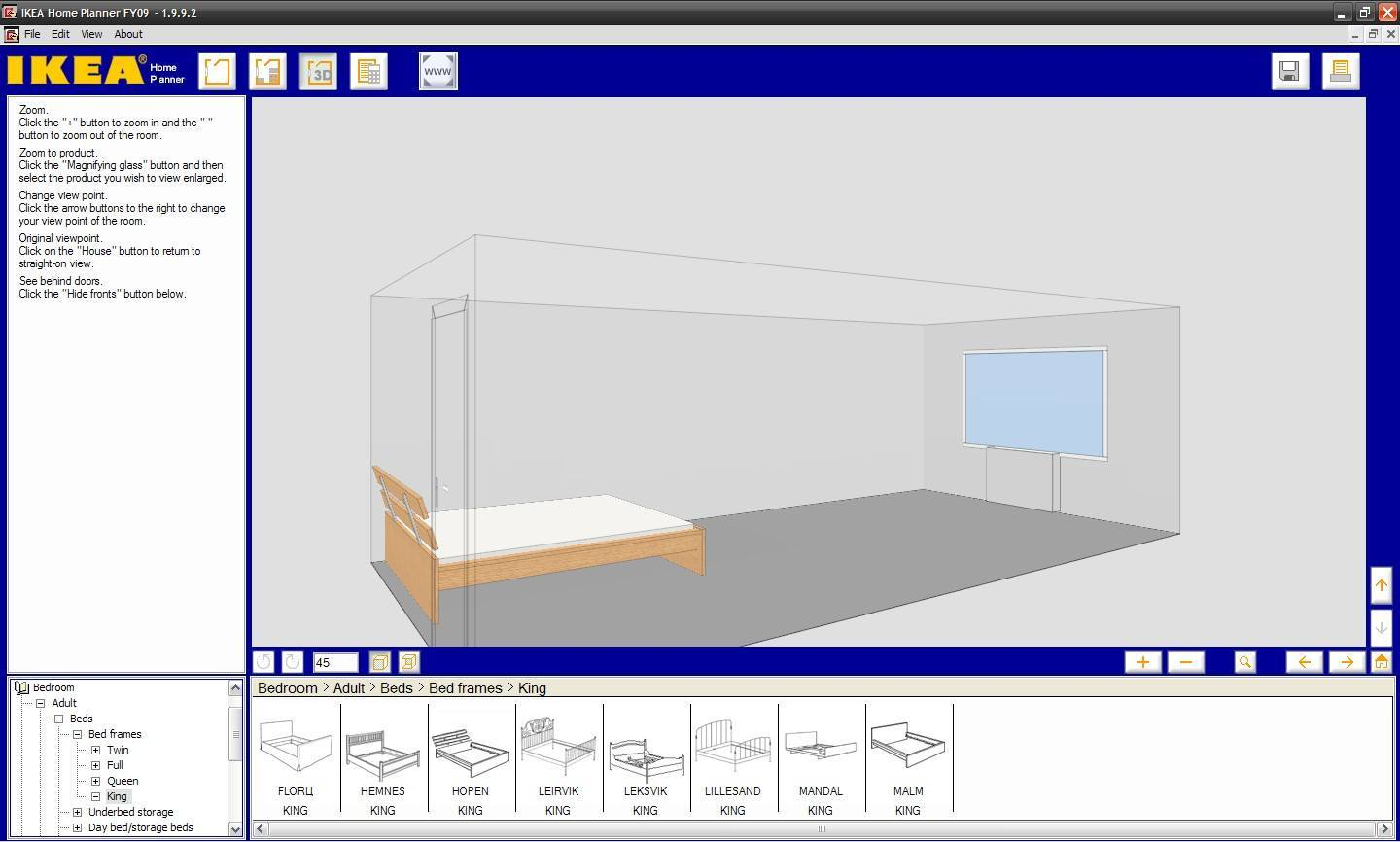 ikea home planner software informer screenshots. Black Bedroom Furniture Sets. Home Design Ideas