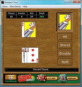 Blackjack strategy ace five