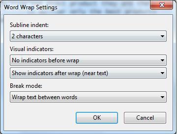 Wrap Options