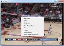 Right click menu
