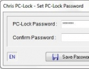 PC lock password