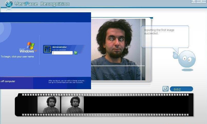 برنامج veriface recognition لفتح جهازك الحاسب ببصمة عينك وبصورة وجهك