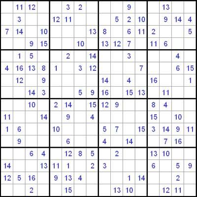 Medium Samurai Sudoku Samurai sudoku 1.0 : difficult