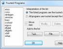 Trusted Programs