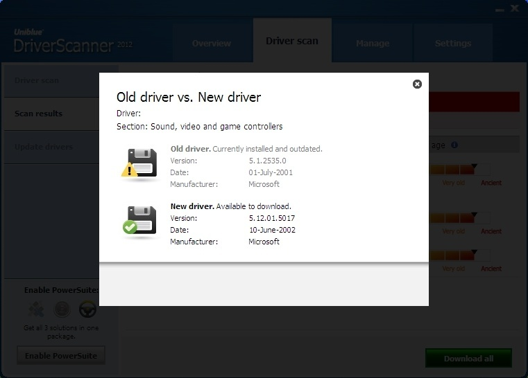 Old Driver vs. New Driver