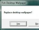 Replace Desktop Wallpaper