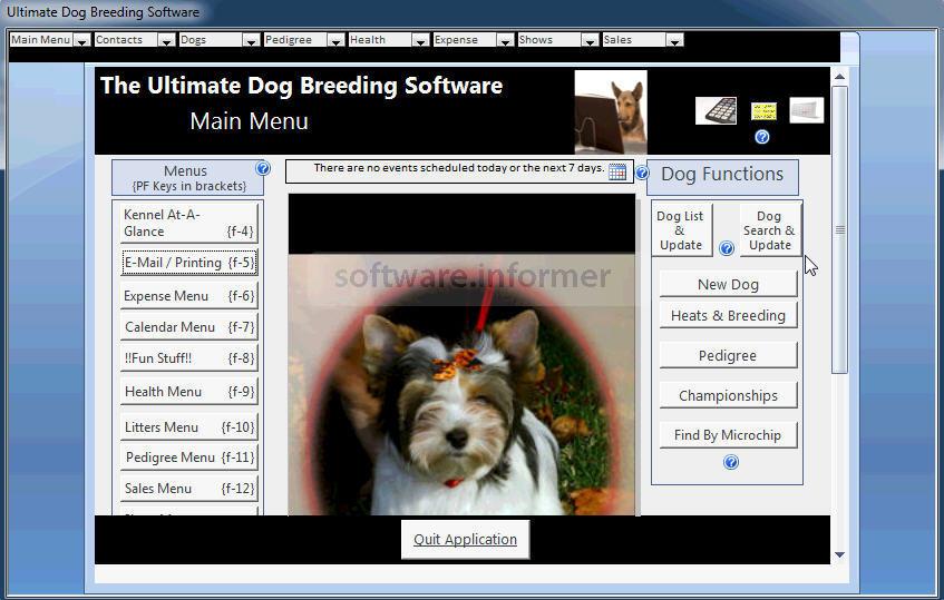 Ultimate Dog Breeding Software