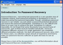 """""""Introduction to Password Recovery"""" Screen"""