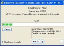 Password Recovery in Progress