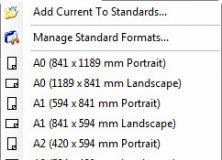 Standard Formats