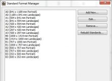 Standard Format Manager