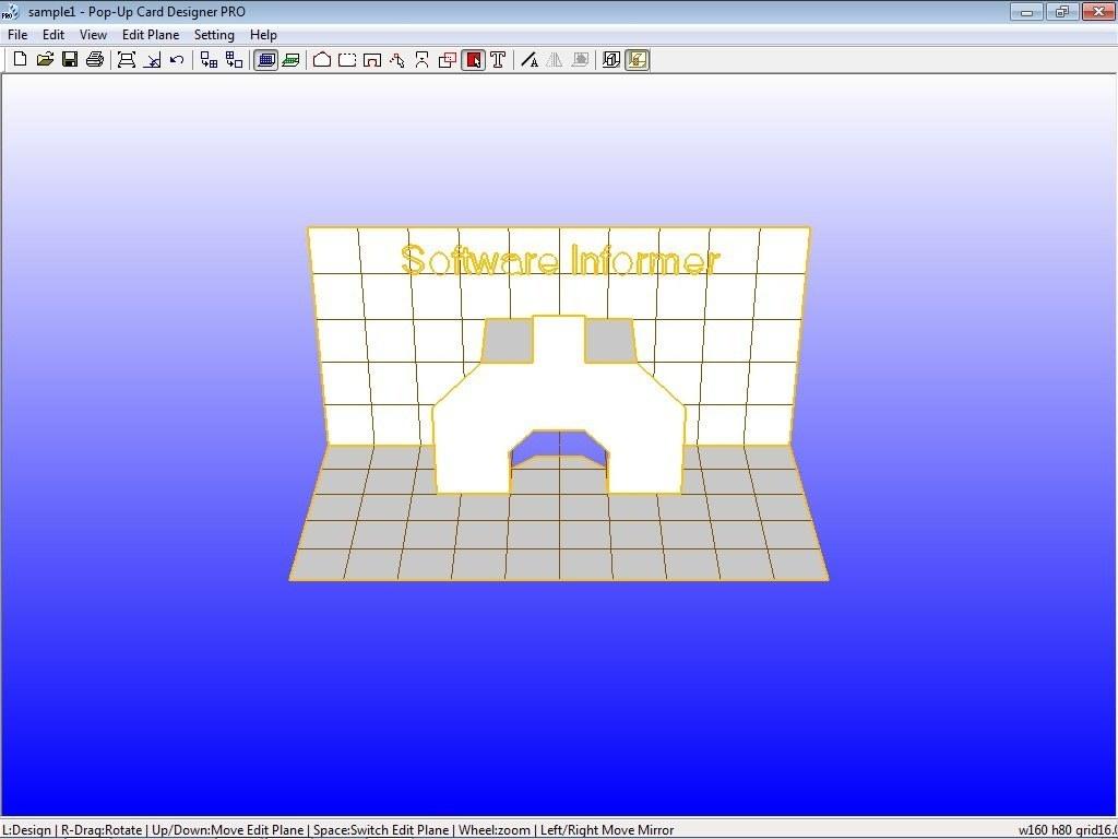 Pop-Up Card Designer Software Informer: Screenshots