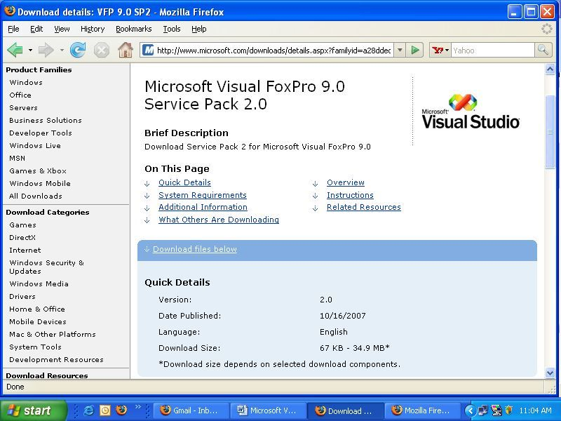 Visual Foxpro 9.0 Driver Download