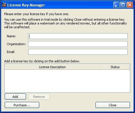 License Key Manager
