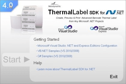 Download free ThermalLabel SDK For  NET for windows 8 1 free