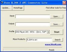 конвертер h.264 в avi