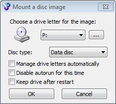 Mounting a Disc Image
