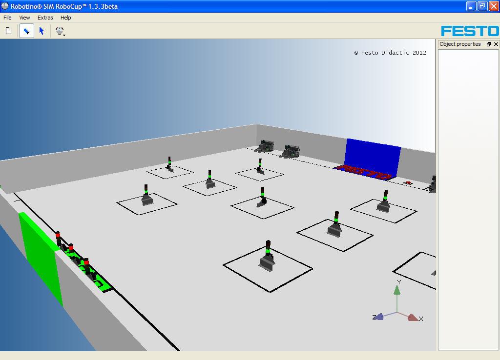 Robotino 174 Sim Robocup Software Informer Screenshots