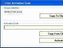 Program Activation Window