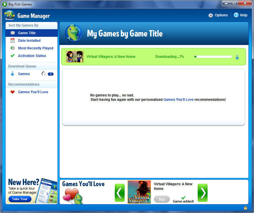 big fish games manager free download effection