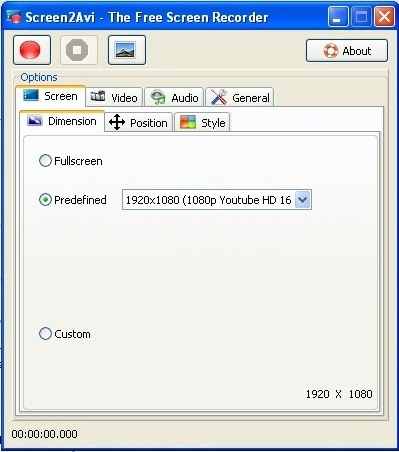 Screen Tab