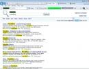 Highlighting Keywords