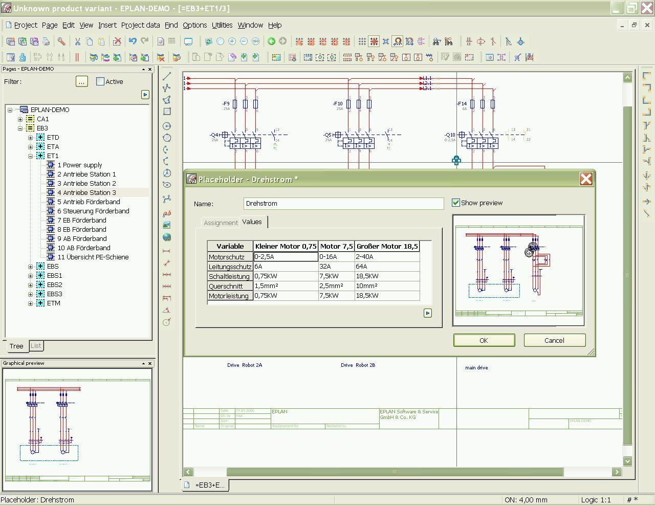 EPLAN Electric P8 Software Informer: Screenshots