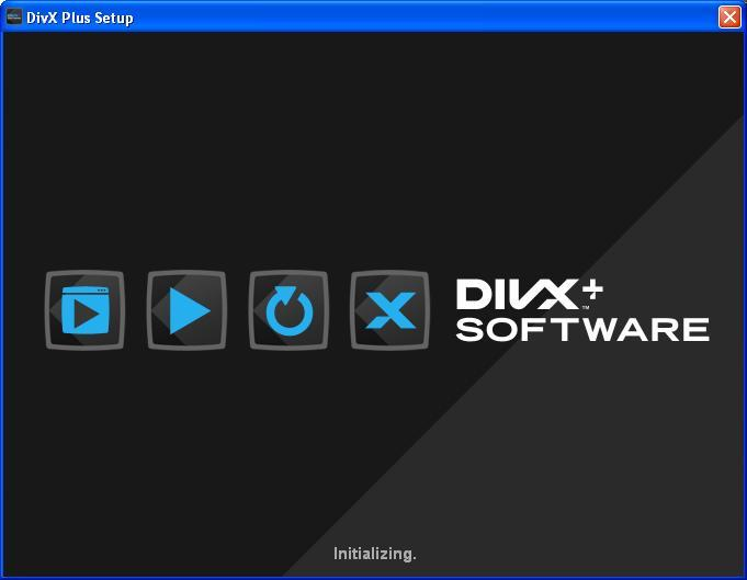 DivX Installation Screen