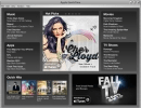 The Main Window shows a navigation panel to access popular web content on the iTunes store