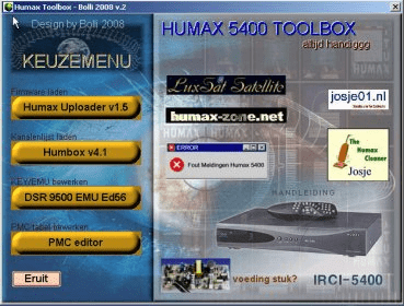 Download Software Humax 5400z Firmware - nsxsonar