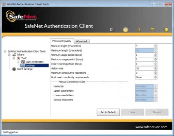Safenet Authentication Client 8.2 скачать