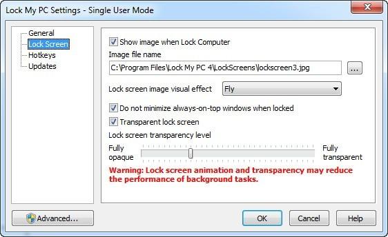Setting Animated Lock Image
