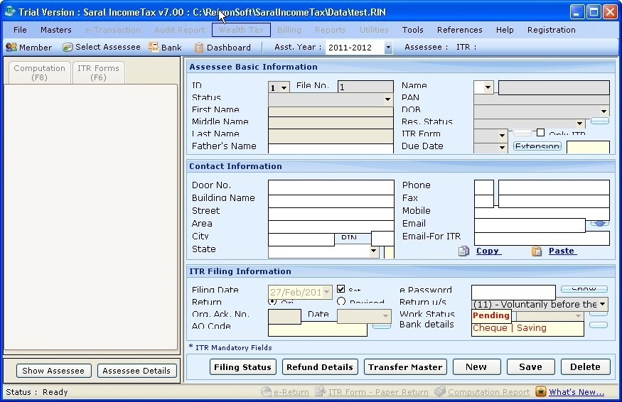 how to get assessment order of income tax online