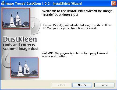 Image Trends' DustKleen setup