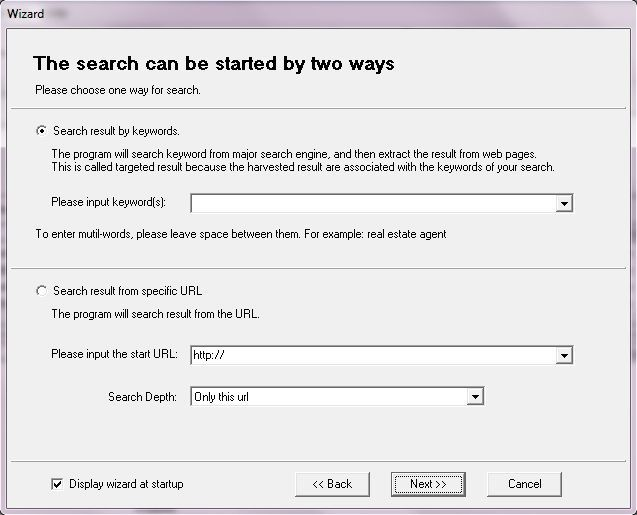 Search Wizard
