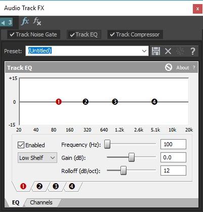 Audio Track FX