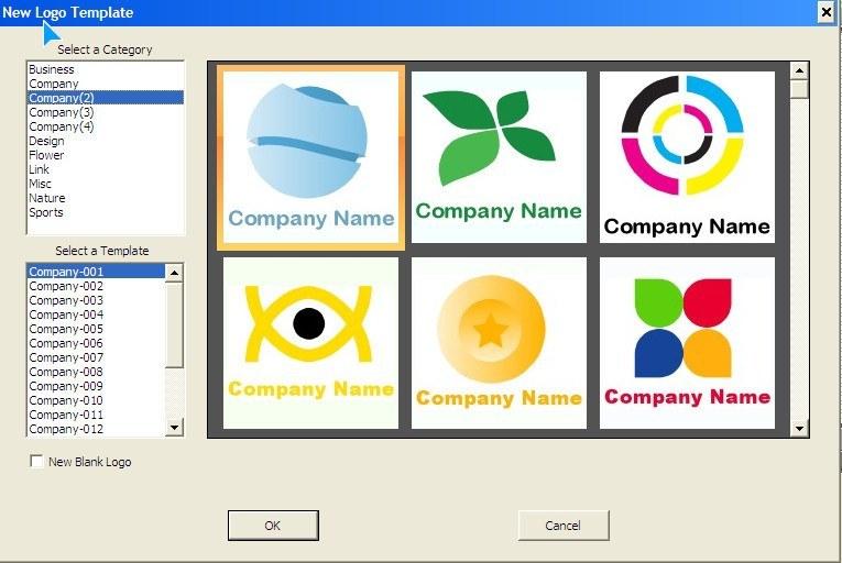 Logo Template Window