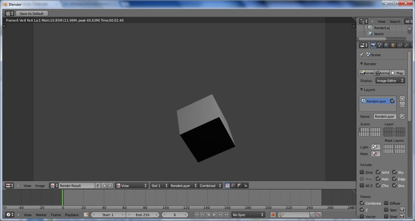 Animation Screen