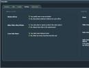 muvee Reveal Personalization Settings