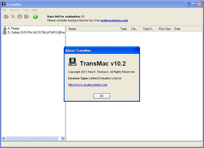acute systems transmac v10.4