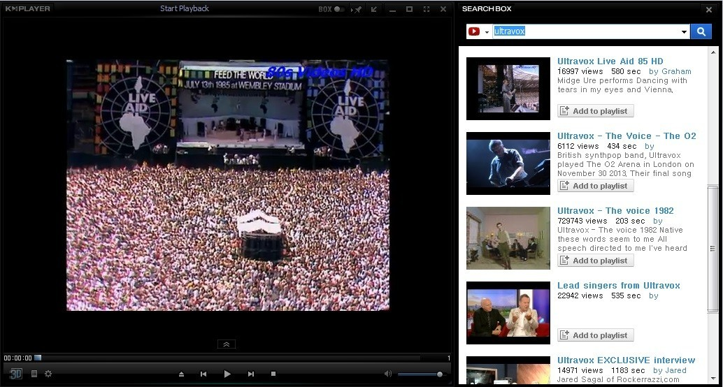 YouTube Video Search and Playback