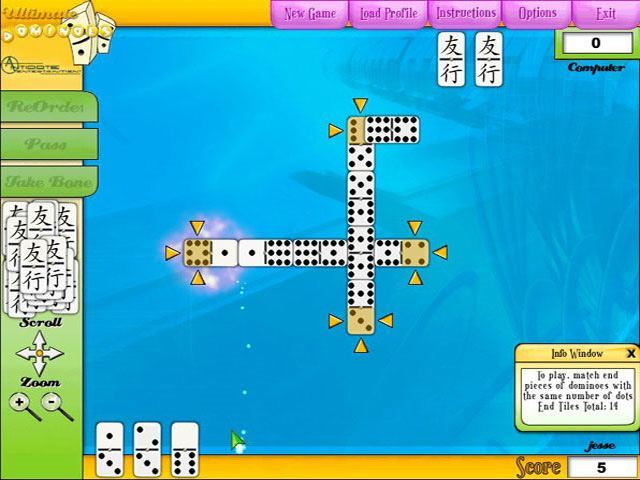 Ultimate dominoe